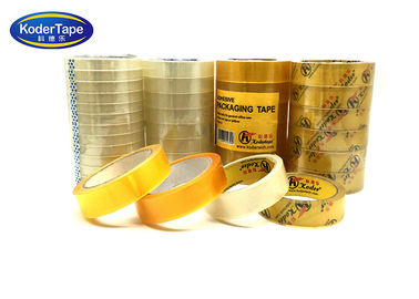 Paper Core Flat Shrink Packaging 3 Inch Bopp Stationery Tape