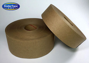 Self Adhesive Kraft Paper Tape Matt Water Active For Box Sealing Bunding
